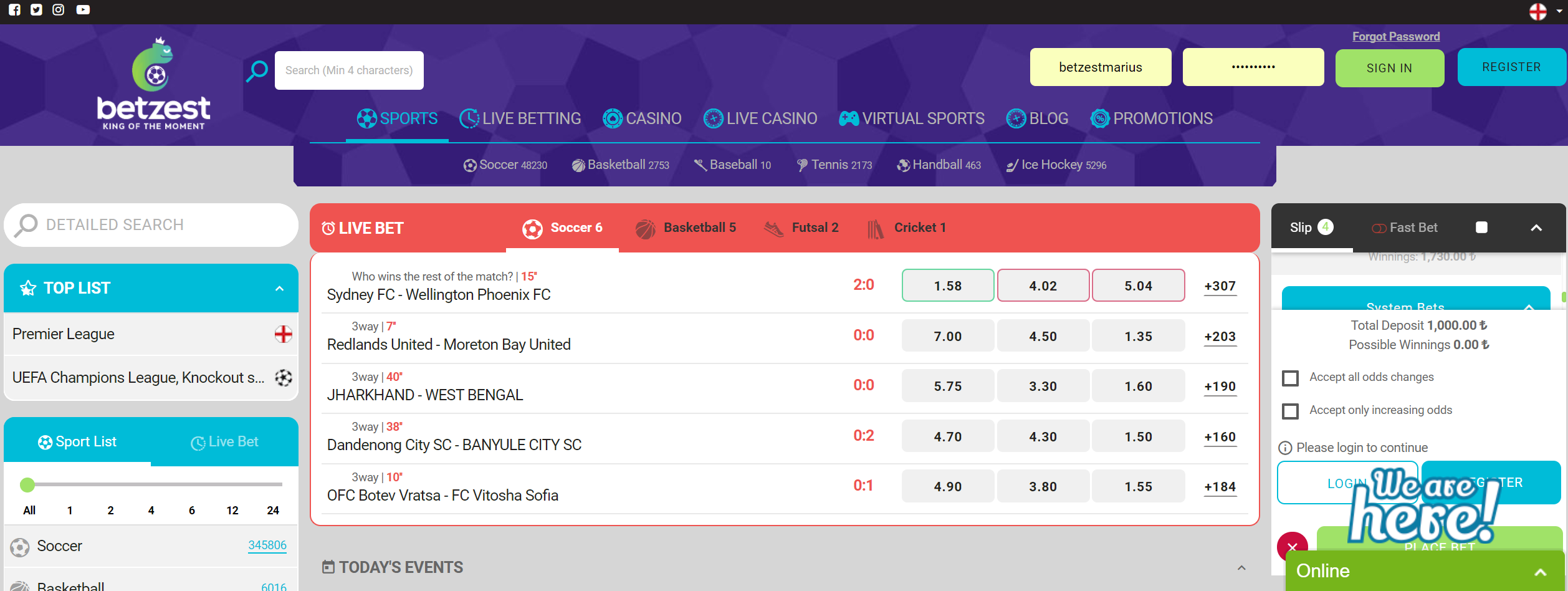 betzest casino and sportsbook