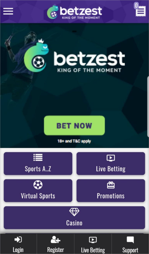 How to claim Betzest 5€/$ No deposit bonus