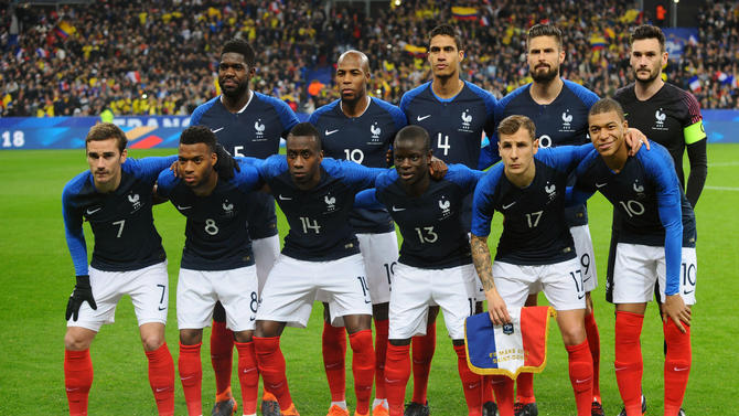 Bet on World Cup: France vs Australia