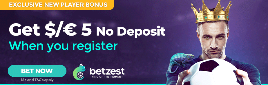 Free Bet Get A 5 Free Bet When You Sign Up At Betzest