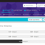 New Online Bookie World Cup