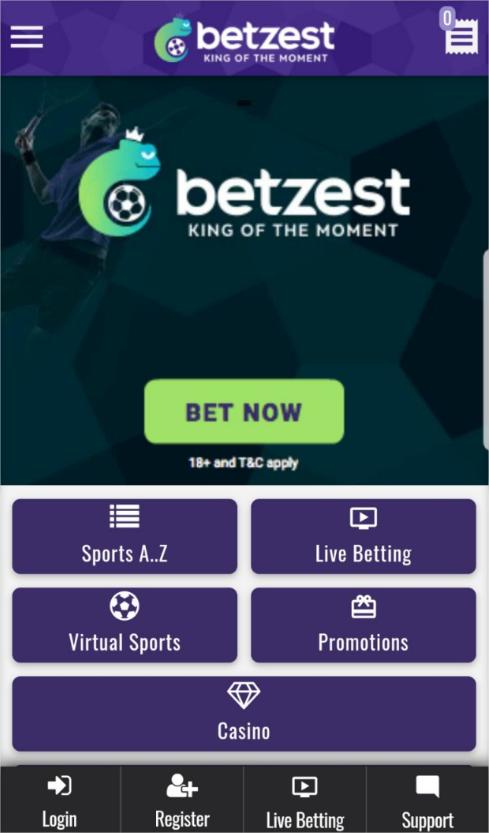 How to claim Betzest 5€/$ No deposit bonus