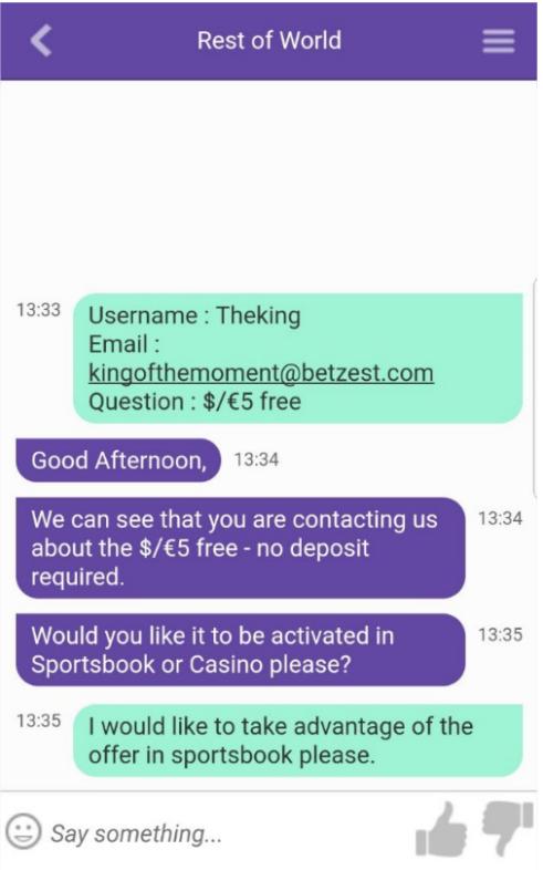 Betzest No deposit
