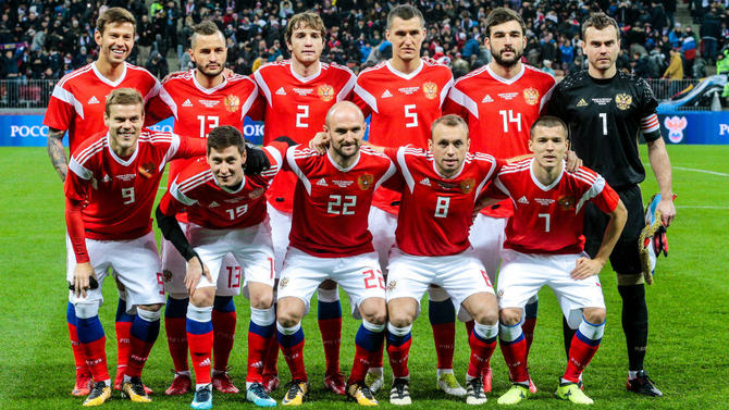 Bet on Russia vs Egypt