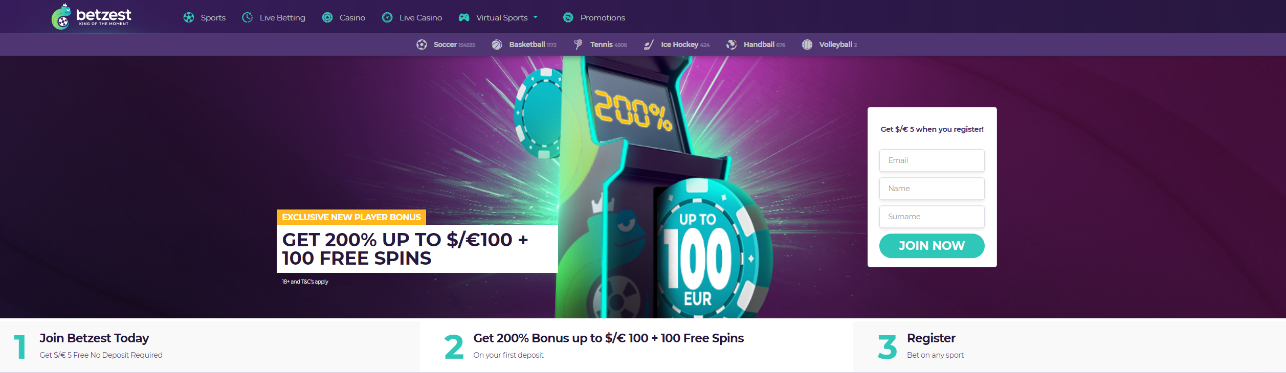 Free Spins No Wagering